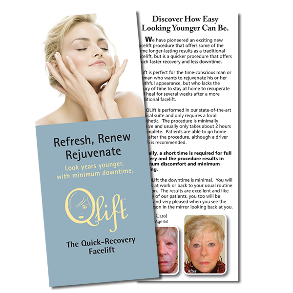 Qlift Brochure Refresh, renew, rejuvenate